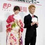 篠田麻里子さんの振袖姿にうっとり。。